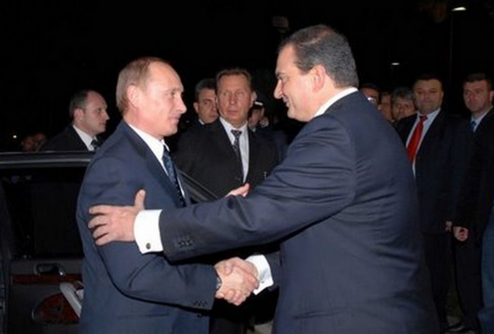 Αποτέλεσμα εικόνας για καραμανλής πούτιν